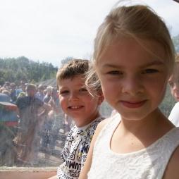 2 dejlige unger i Knuthenborg