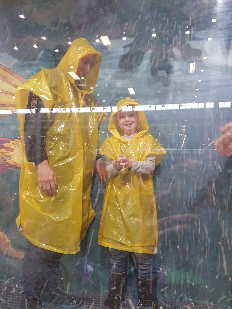 LEGO regn til LEGO World