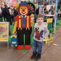 Miko og LEGO klovnen